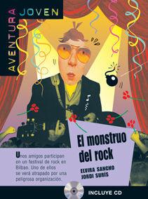 COLECCIÓN AVENTURA JOVEN. EL MONSTRUO DEL ROCK.  LIBRO + CD