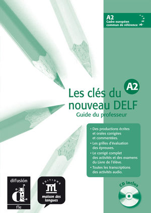 CLES DU NOUVEAU DELF A2 PROFESOR+CD