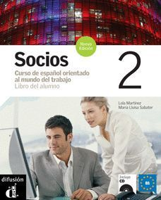 SOCIOS 2 ALUMNO+CD B1