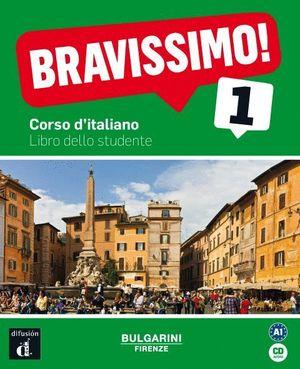 BRAVISSIMO! 1 A1 CORSO D¦ITALIANO LIBRO DEL ESTUDIANTE (+CD)