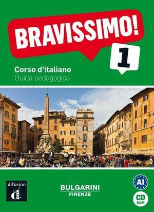 BRAVISSIMO! 1. GUIDA PEDAGOGICA CD-ROM