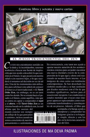 TAROT OSHO ZEN (LIBRO + CARTAS)