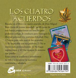 LOS CUATRO ACUERDOS (CARTAS)