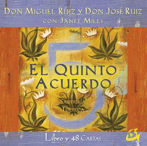 EL QUINTO ACUERDO (LIBRO + 48 CARTAS)