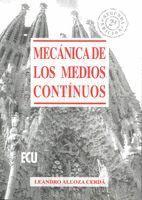 MECANICA DE LOS MEDIOS CONTINUOS