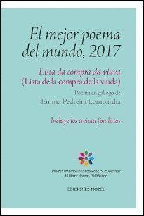 EL MEJOR POEMA DEL MUNDO, 2017 LISTA DE LA COMPRA DE LA VIUDA