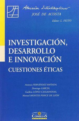 INVESTIGACION DESARROLLO E INNOVACION