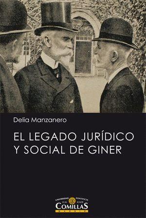 EL LEGADO JURIDICO Y SOCIAL DE GINER