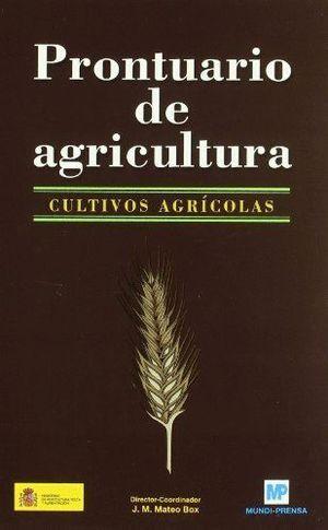PRONTUARIO DE AGRICULTURA