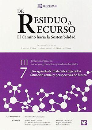 DE RESIDUO A RECURSO - III - RECURSOS ORGANICOS - VOL. 7
