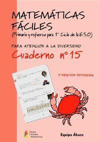 MATEMATICAS FACILES 15 PRIMARIA 2ª EDCION