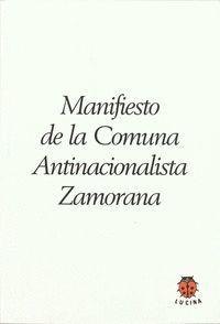 MANIFIESTO COMUNA ZAMORANA