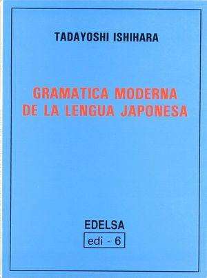 GRAMATICA MODERNA DE LA LENGUA JAPONESA