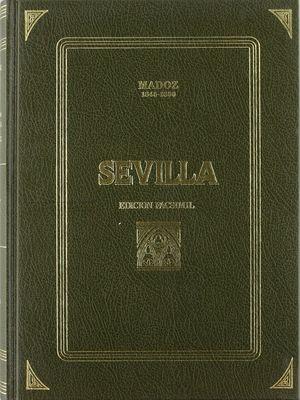 SEVILLA MADOZ - EDICION FACSIMIL (1845-1850)