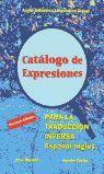 CATALOGO DE EXPRESIONES