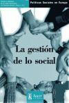 LA GESTION DE LO SOCIAL