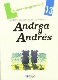 CUAD LECT COMPREN Nº13 ANDREA Y ANDRES