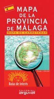 MAPA DE LA PROVINCIA DE MALAGA