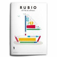 RUBIO, EL ARTE DE COLOREAR 1