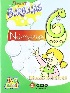 CUADERNO NUMEROS 6 PROYECTO BURBUJAS