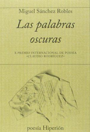 LAS PALABRAS OSCURAS