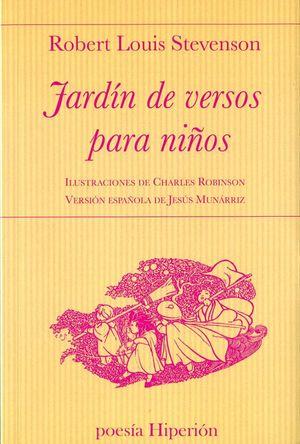 JARDIN DE VERSOS PARA NIÑOS