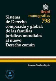 SISTEMA DE DERECHO COMPARADO Y GLOBAL : DE LAS FAMILIAS JURÍDICAS MUNDIALES AL N