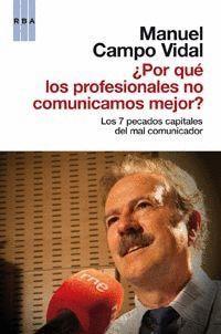 ¿PORQUE LOS PROFESIONALES NO NOS COMUNIC