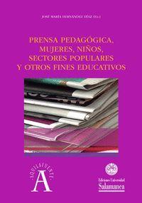 PRENSA PEDAGÓGICA MUJERES, NIÑOS, SECTORES POPULARES