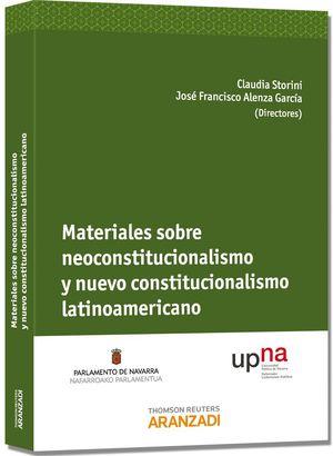 MATERIALES SOBRE NEOCONSTITUCIONALISMO Y NUEVO CONSTITUCIONALISMO LATINOAMERICAN