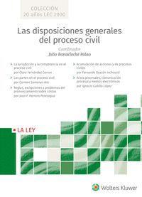 LAS DISPOSICIONES GENERALES DEL PROCESO CIVIL (ESTUCHE 5VOLS)