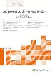 LOS PROCESOS CIVILES ESPECIALES (ESTUCHE 4 VOLS.)