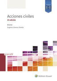 ACCIONES CIVILES (3.ª EDICIÓN) 4 VOLS,