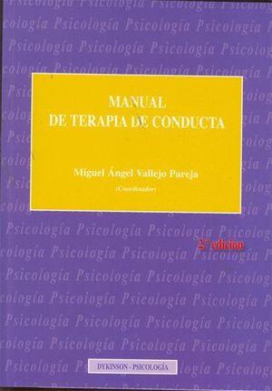 MANUAL DE TERAPIA DE CONDUCTA. TOMO II