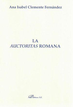 LA AUCTORITAS ROMANA