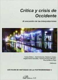 CRÍTICA Y CRISIS DE OCCIDENTE