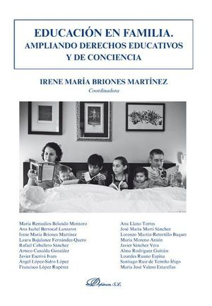 EDUCACIÓN EN FAMILIA. AMPLIANDO DERECHOS EDUCATIVOS Y DE CONCIENCIA