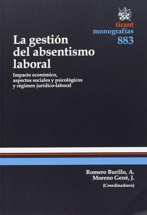 LA GESTIÓN DEL ABSENTISMO LABORAL