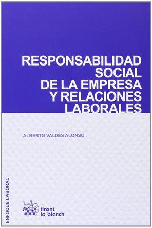 RESPONSABILIDAD SOCIAL DE LA EMPRESA Y RELACIONES LABORALES