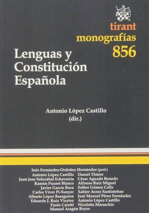 LENGUAS Y CONSTITUCIÓN ESPAÑOLA