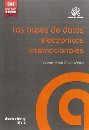 LAS BASES DE DATOS ELECTRÓNICAS INTERNACIONALES