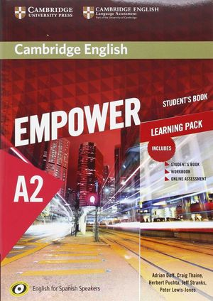 EMPOWER A2 LEARNING PACK (STUDENT¦S BOOK, WORKBOOK...