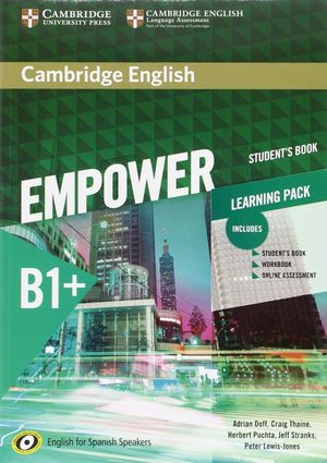 EMPOWER B1+ LEARNING PACK (STUDENT¦S BOOK, WORKBOOK...