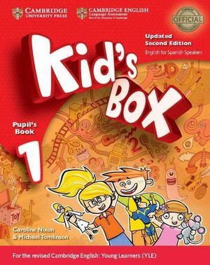 KID'S BOX LEVEL 1 PUPIL'S BOOK WITH MY HOME BOOKLET UPDATED ENGLISH FOR SPANISH