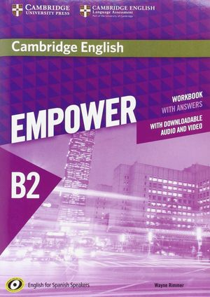 EMPOWER FOR SPANISH SPEAKERS B2 WORKBOOK WITH ANSWERS, WITH DO