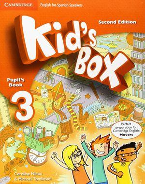 KID¦S BOX 3ºEP SPANISH SPEAKERS PUPIL¦S BOOK 2ºED.