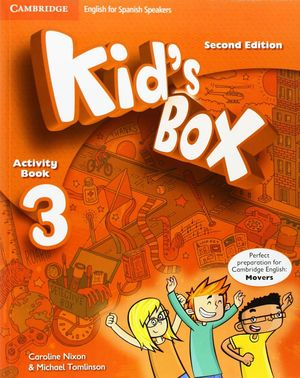 KID'S BOX 3 FOR SPANISH SPEAKERS ACTIVITY BOOK WITH CD