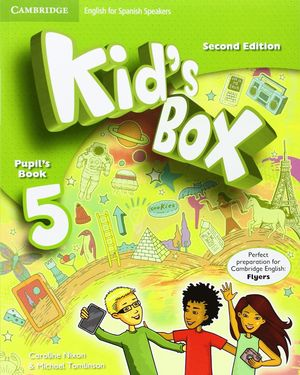 KID'S BOX 5ºEP FOR SPANISH SPEAKERS PUPILS BOOK 2015