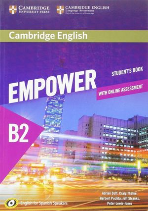 EMPOWER FOR SPANISH SPEAKERS B2 STUDENT'S BOOK WITH ONLINE ASS