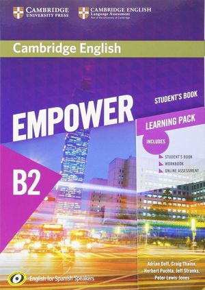 EMPOWER BOOK B2 LEARNING PACK (STUDENT¦S BOOK, WORKBOOK...
